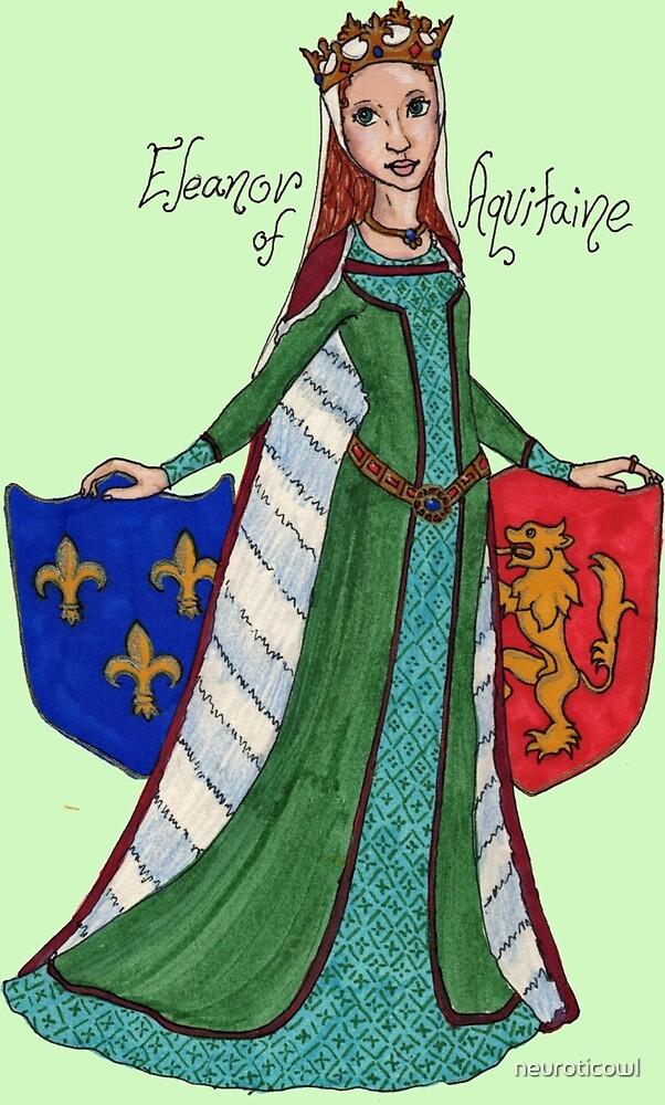 Eleanor of Aquitaine by neuroticowl