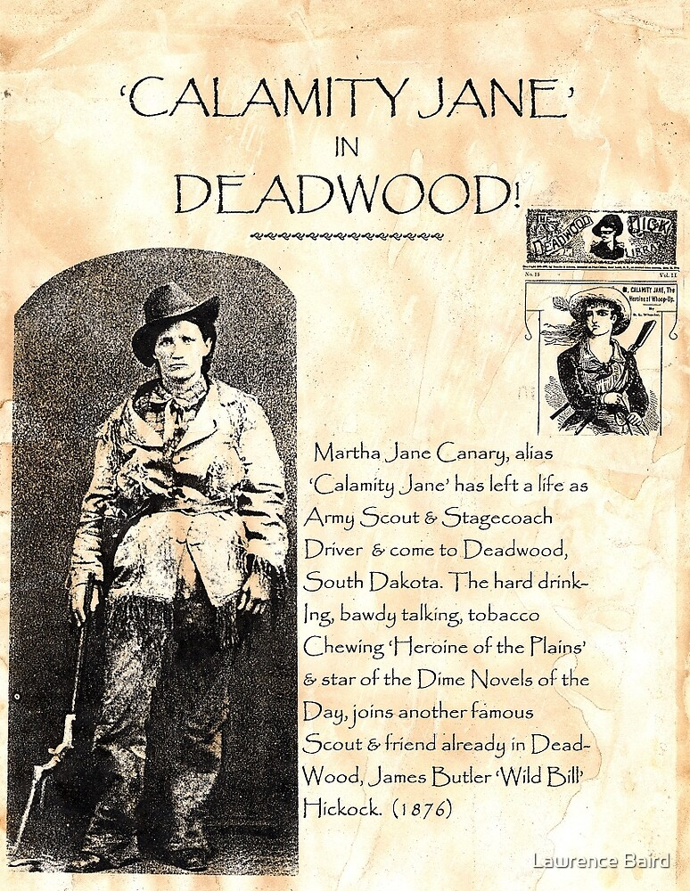 Calamity Jane of Deadwood by Lawrence Baird