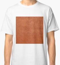RUST COLORED STUCCO Classic T-Shirt