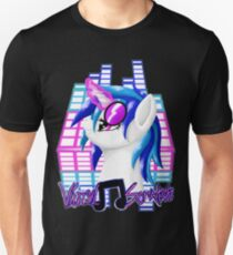 MLP Vinyl Scratch: For The Love Of Music Unisex T-Shirt