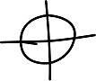 Zodiac Killer Cipher Symbol by 7Tallies
