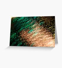 Suburb Christmas Light Series - Xmas Emerald Greeting Card