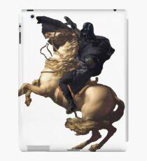 Darth vader riding a horse iPad Case/Skin