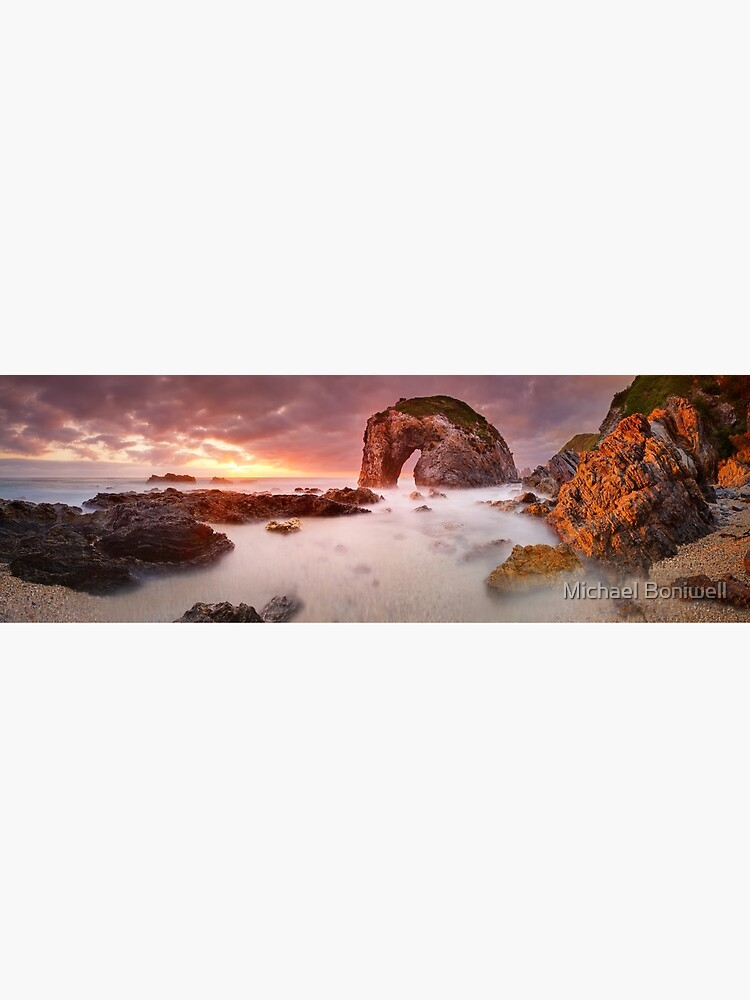 Horse Head Rock Dawn, Bermagui, New South Wales, Australia by Chockstone