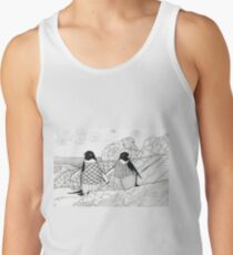 Two Penguins in wait. Tank Top