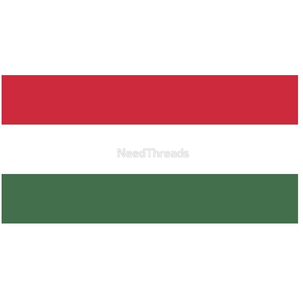 Hungary Flag by NeedThreads