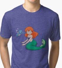The Misty Mermaid Tri-blend T-Shirt
