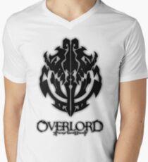 Overlord Anime Guild Emblem - Ainz Ooal Gown Men's V-Neck T-Shirt