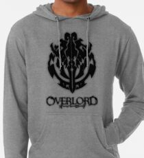 Overlord Anime Guild Emblem - Ainz Ooal Gown Lightweight Hoodie