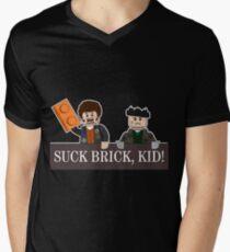 SUCK BRICK, KID! Men's V-Neck T-Shirt