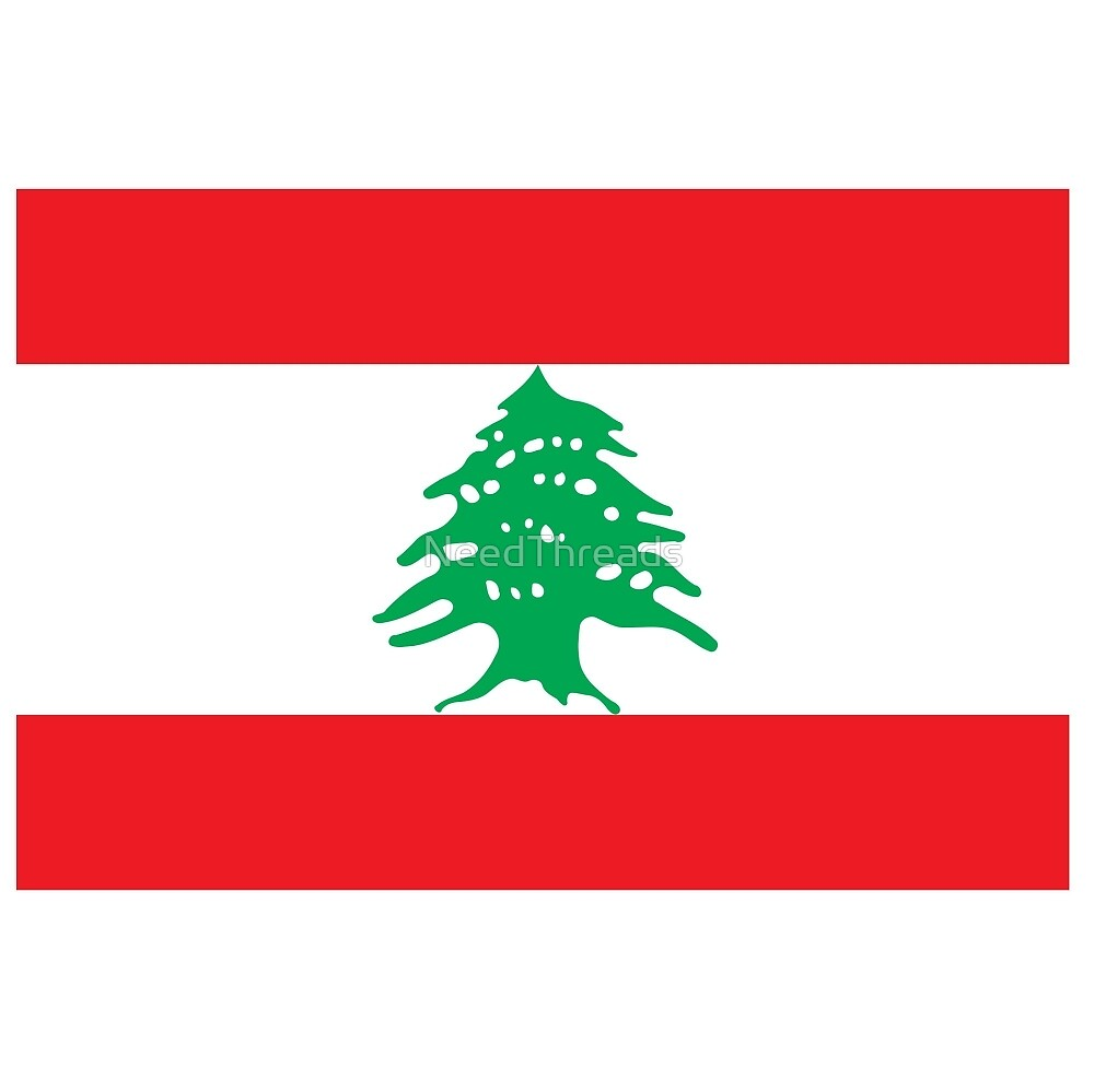 Lebanon Flag by NeedThreads