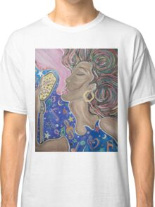 Lady Sings  Classic T-Shirt