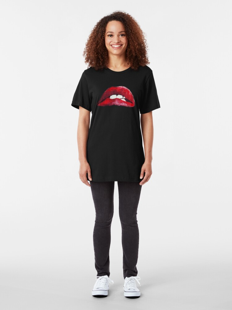 Alternate view of It's just a jump to the left... Slim Fit T-Shirt