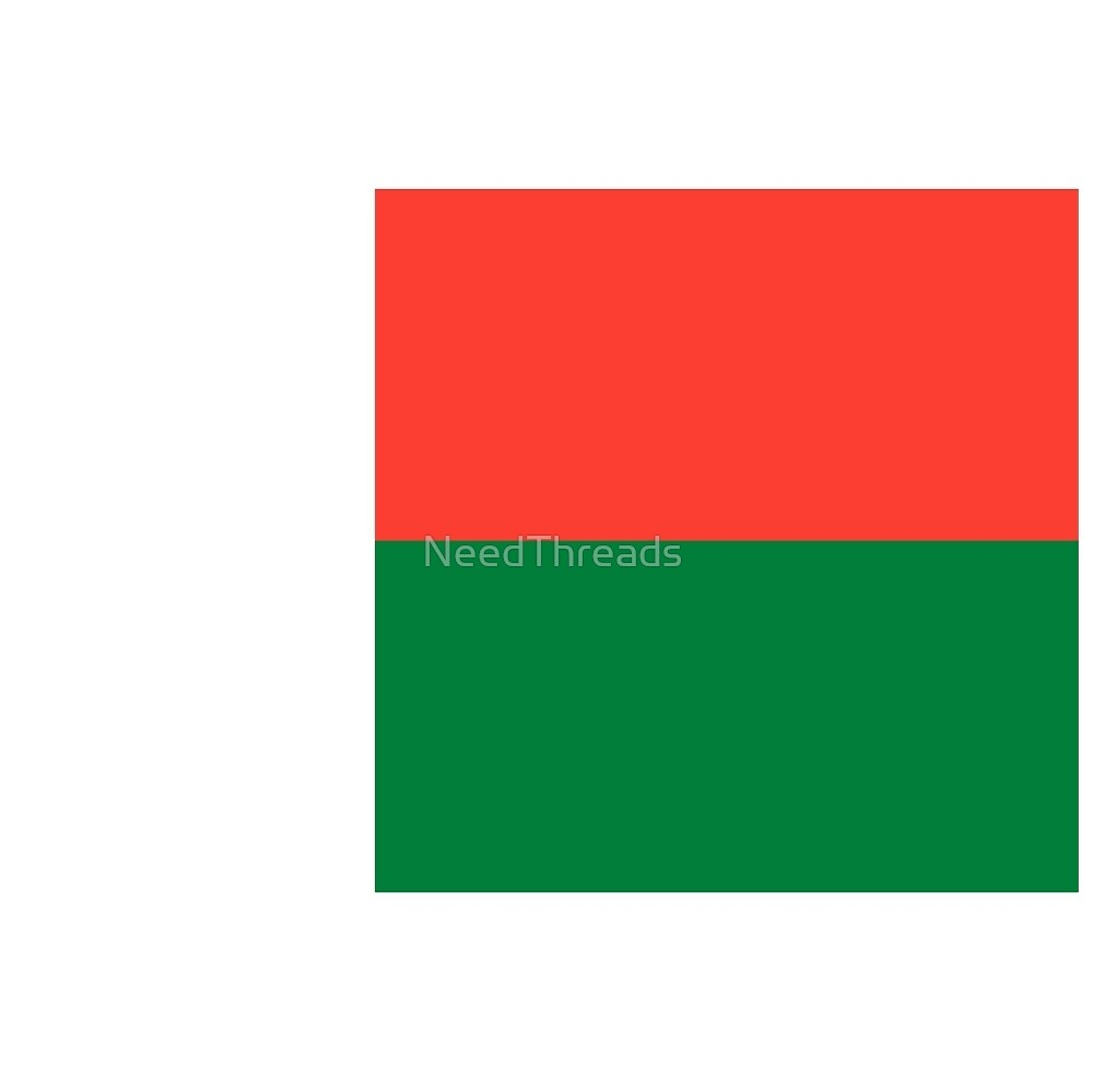 Madagascar Flag by NeedThreads