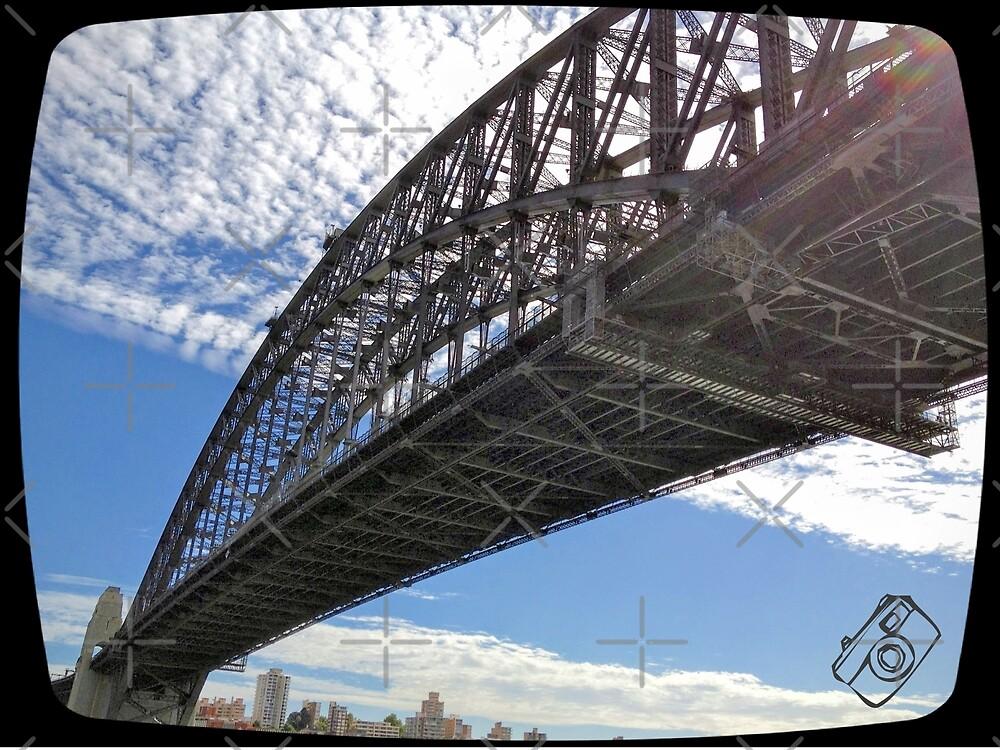 Sunny Sydney Harbour Bridge by eidann