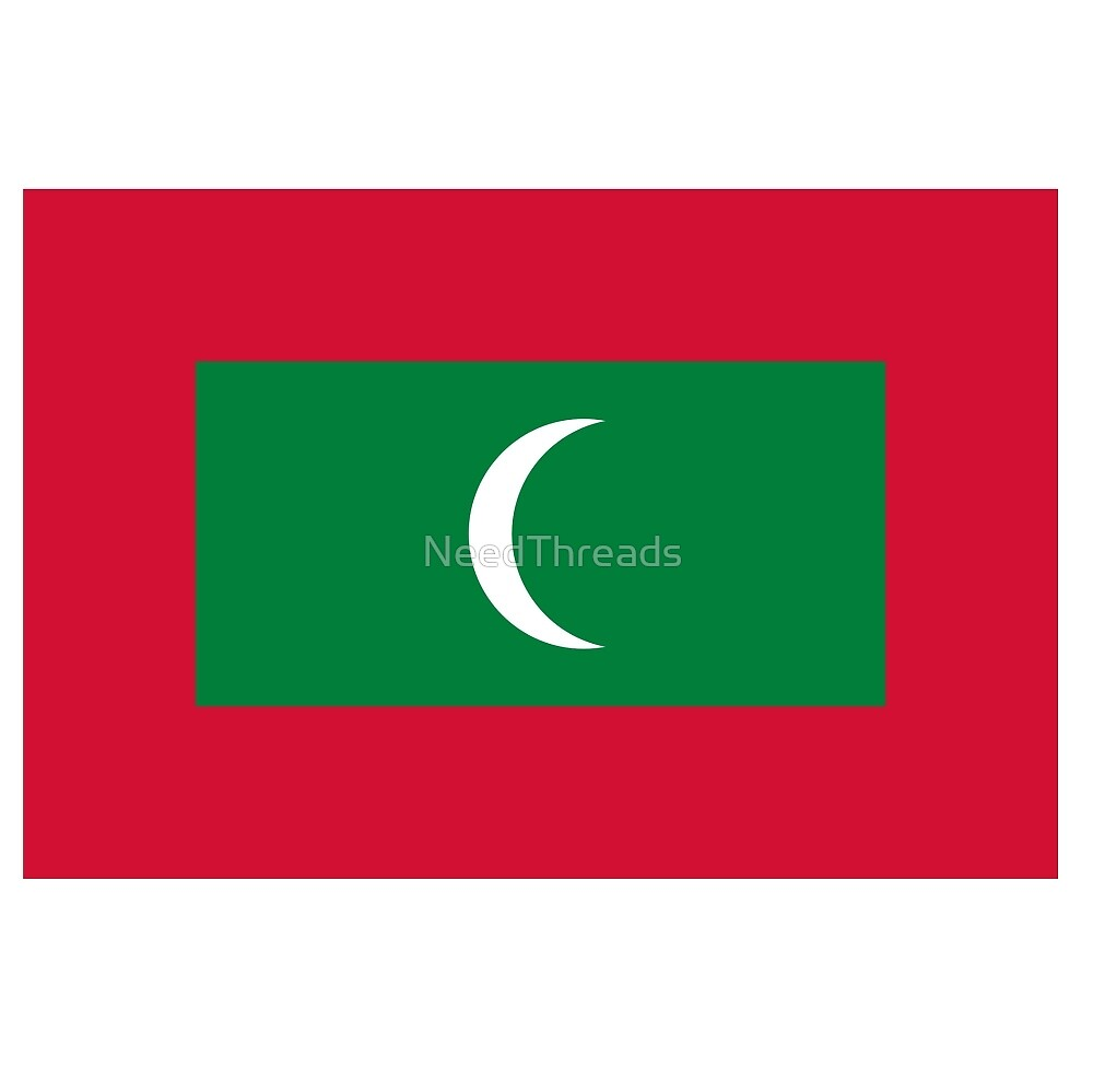Maldives Flag by NeedThreads