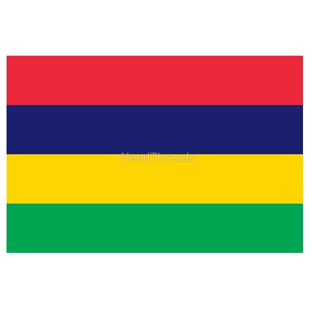 Mauritius Flag by NeedThreads