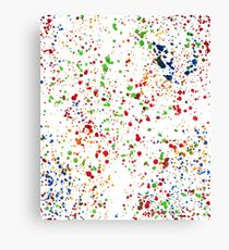 Color drops Canvas Print