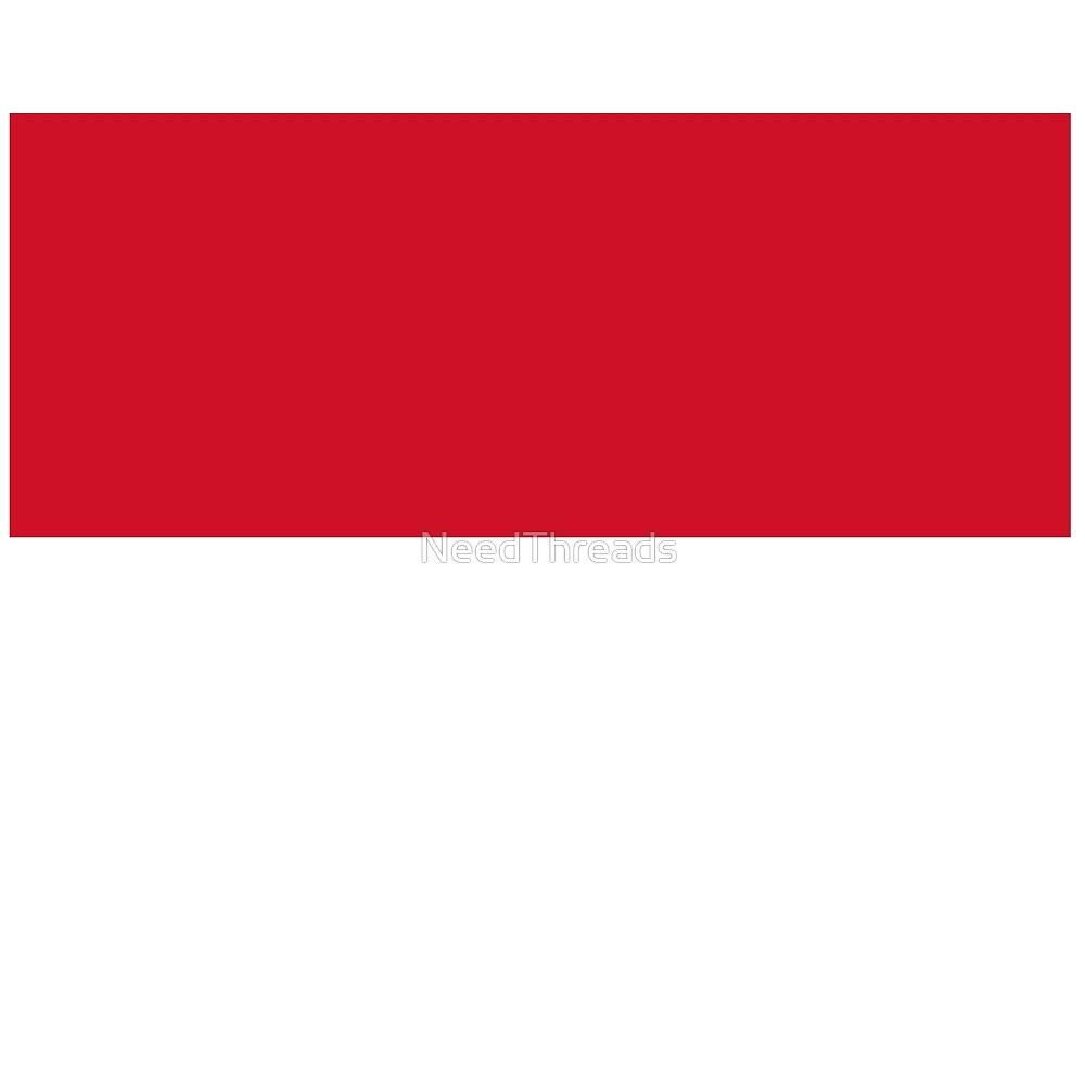 Monaco Flag by NeedThreads