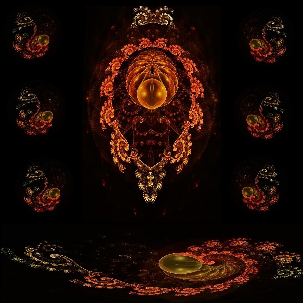 Mystic Trilobite  by chessboardrhino