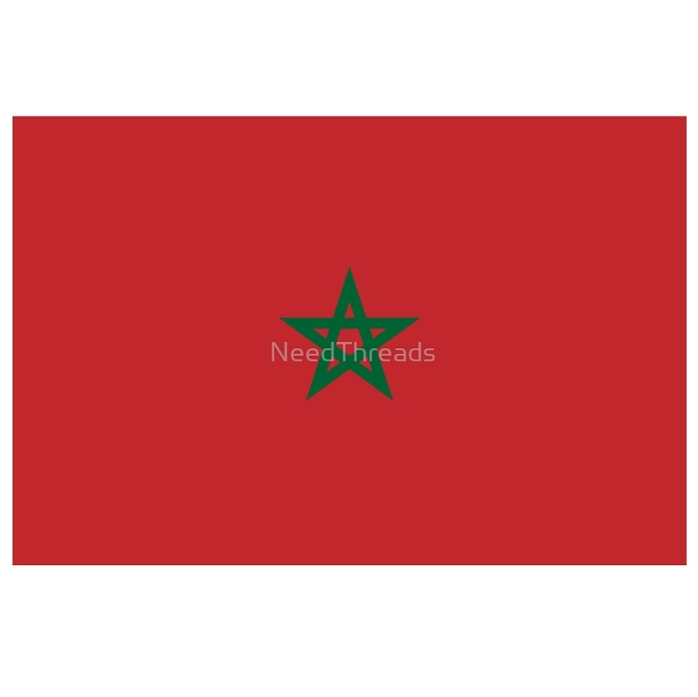 Morocco Flag by NeedThreads