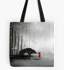 Little Red Riding Hood - In Denial Tote Bag