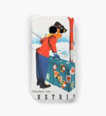 Vintage poster - Austria Samsung Galaxy Case/Skin