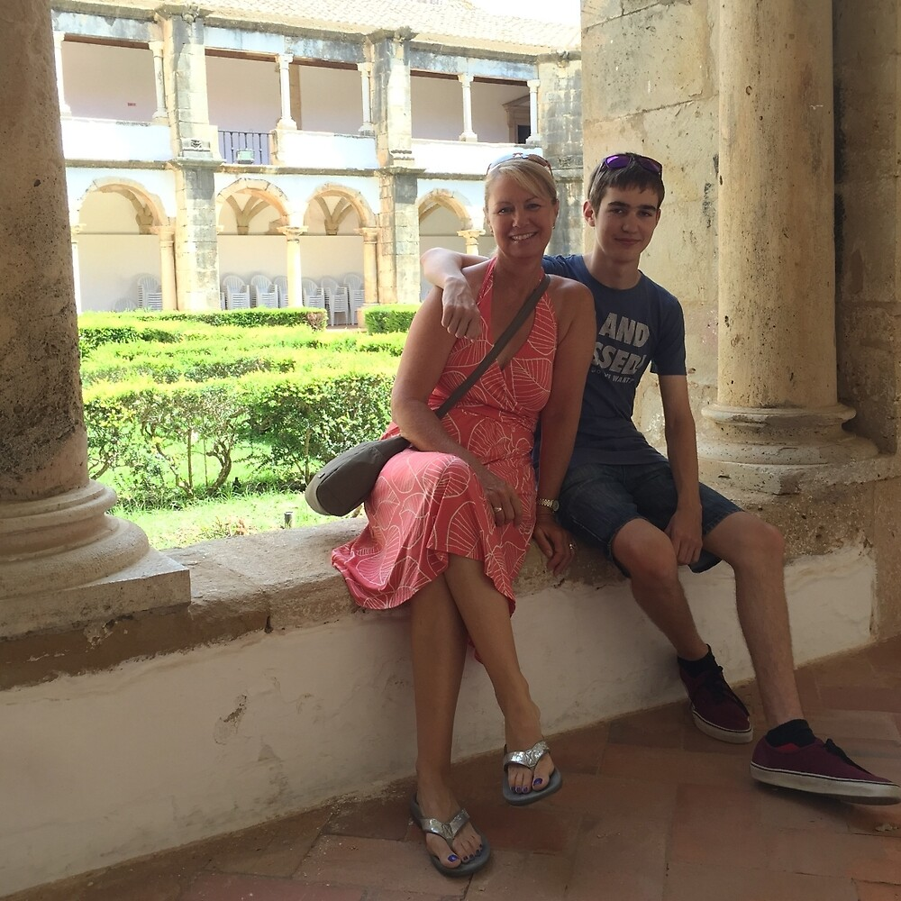 Siân and Chris in Faro by Colin Leal