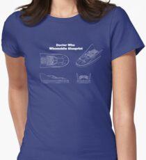 Doctor Who's Whomobile - Blueprint Design T-Shirt
