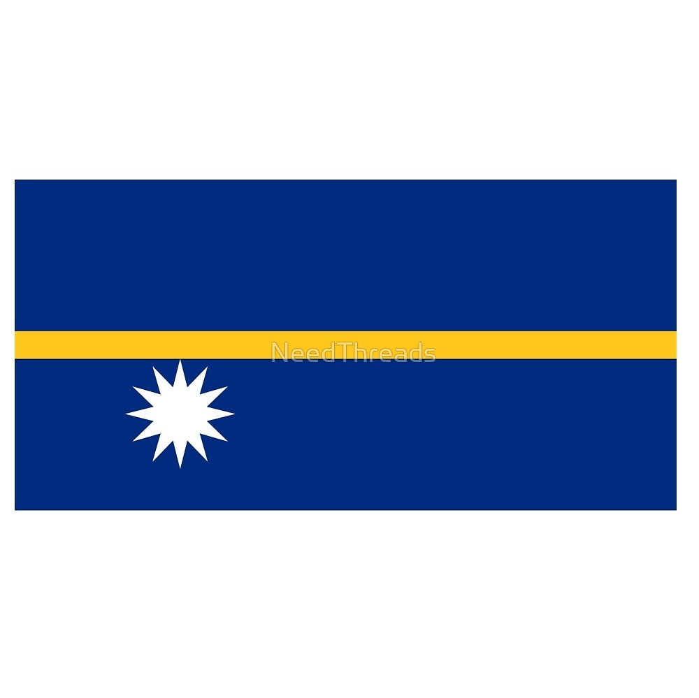 Nauru Flag by NeedThreads