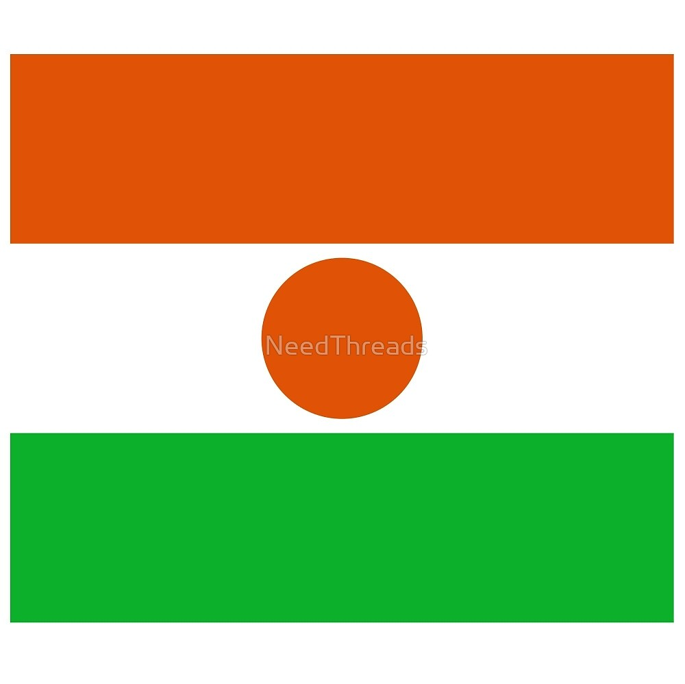 Niger Flag by NeedThreads