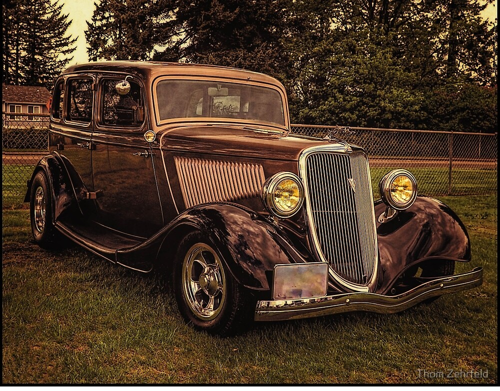 34 Ford 4 Door Sedan by Thom Zehrfeld