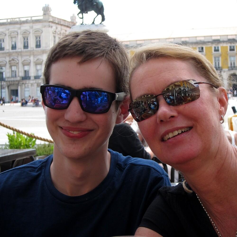 Chris and Siân - Lisbon by Colin Leal