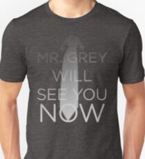 Mr. Grey Will See You Now (Fifty Shades of Grey) Slim Fit T-Shirt