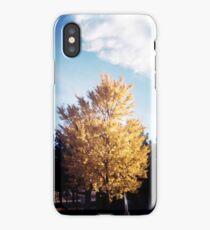 Yellow Tree Blue Sky iPhone Case/Skin