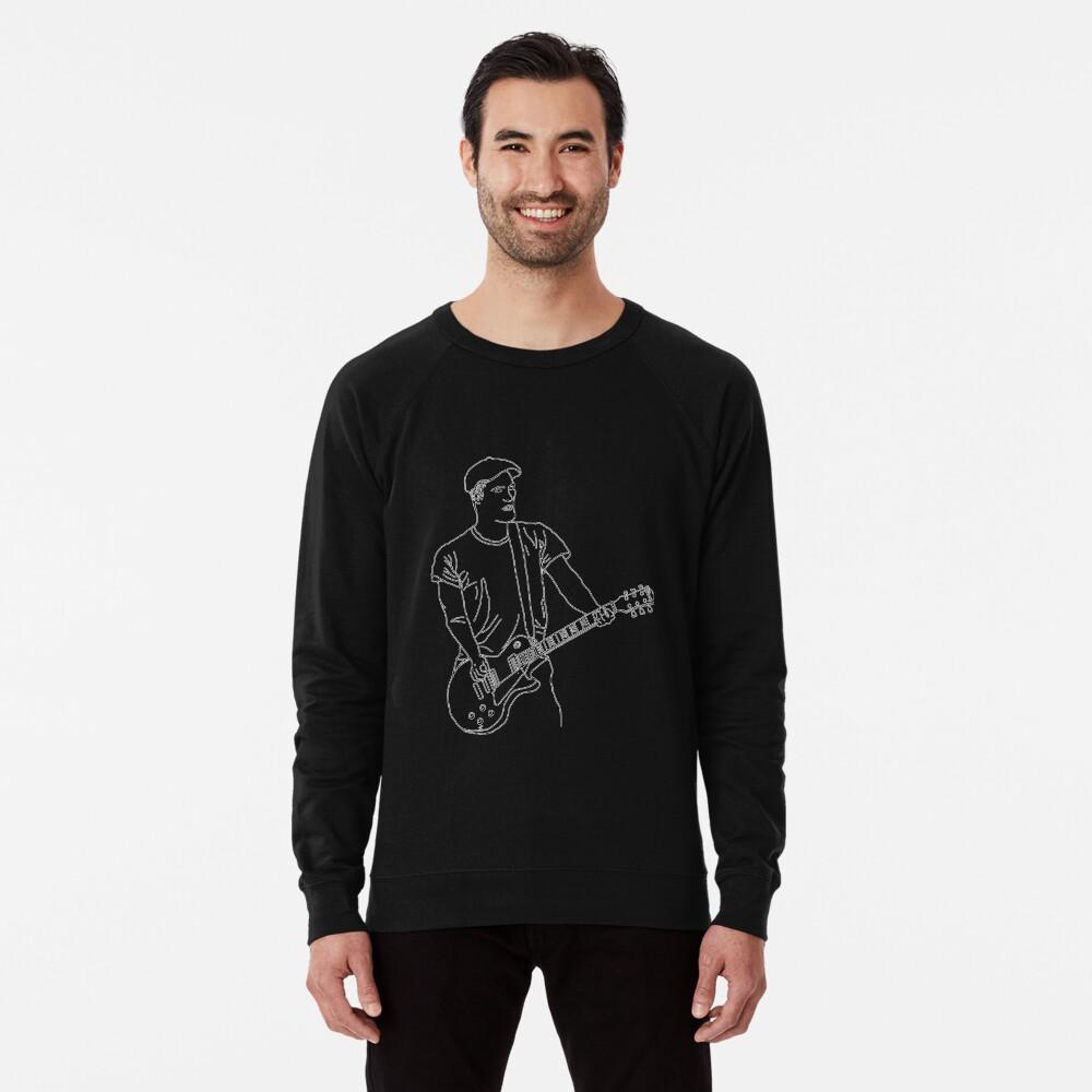Brian Fallon Linie Kunst Leichter Pullover