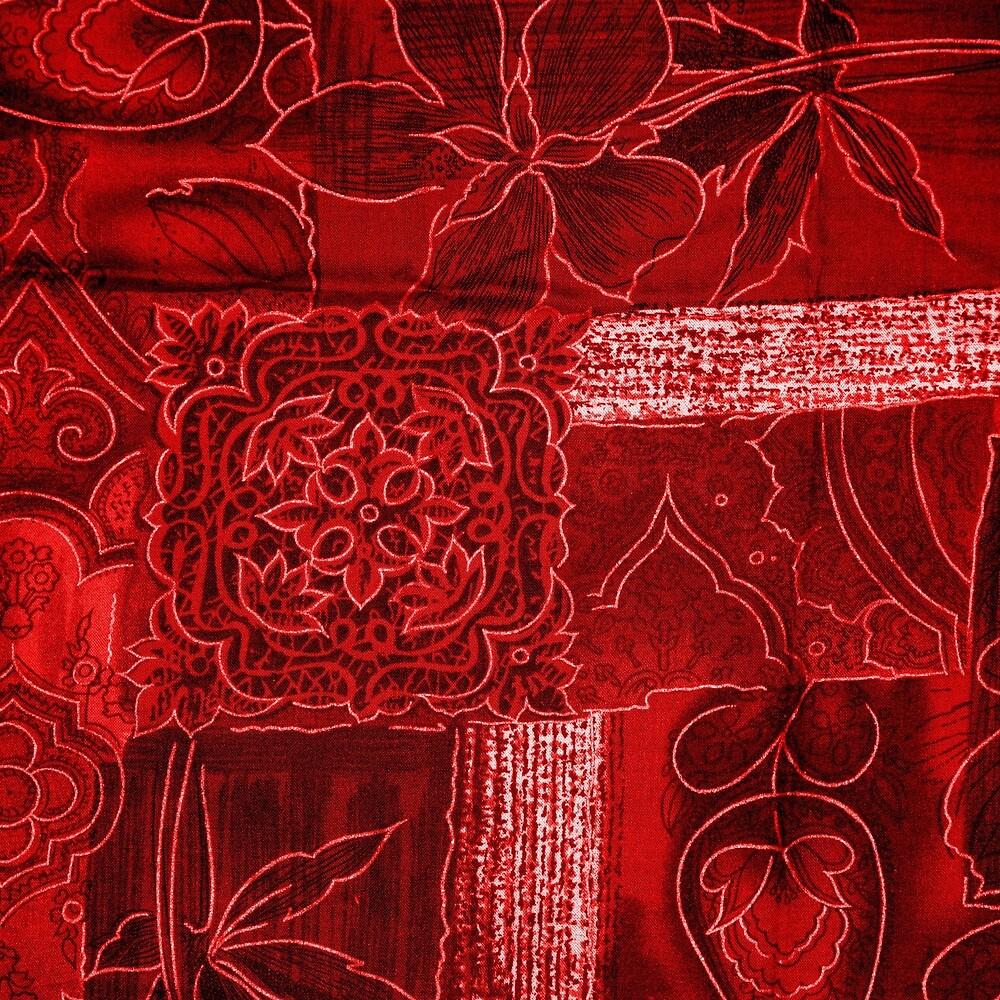 RED PATCHWORK by johnhunternance