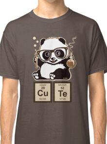 Chemistry panda discovered cute Classic T-Shirt