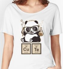 Chemistry panda discovered cute Women's Relaxed Fit T-Shirt