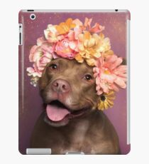 Flower Power, Topaz iPad Case/Skin