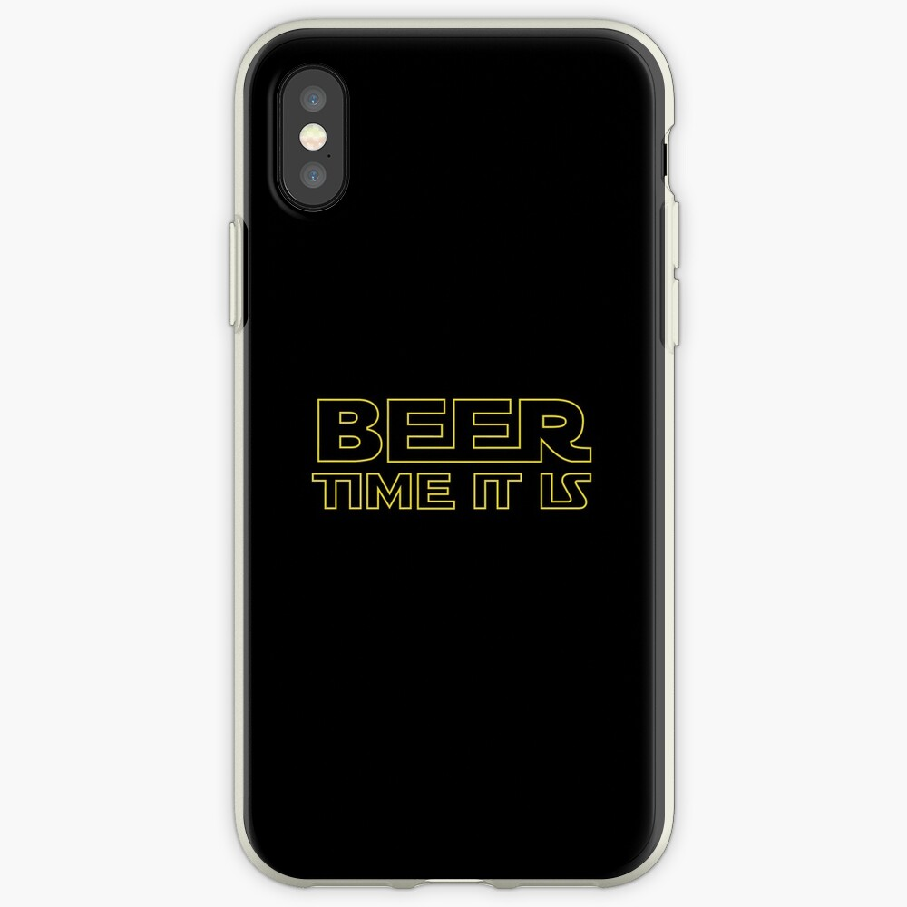 Beer Time It Is iPhone Case & Cover