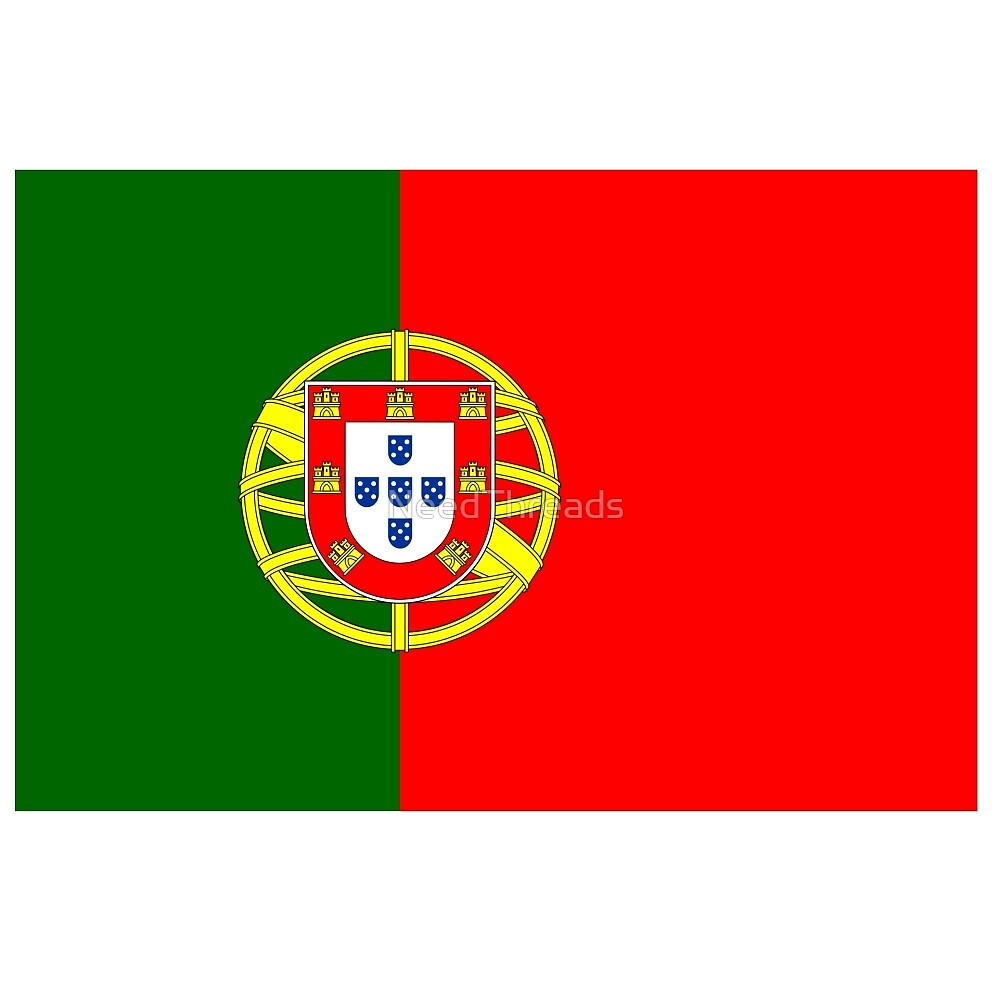 Portugal Flag by NeedThreads