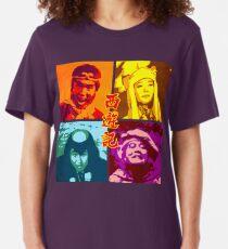 SAIYUKI (MONKEY MAGIC) - posterized Slim Fit T-Shirt