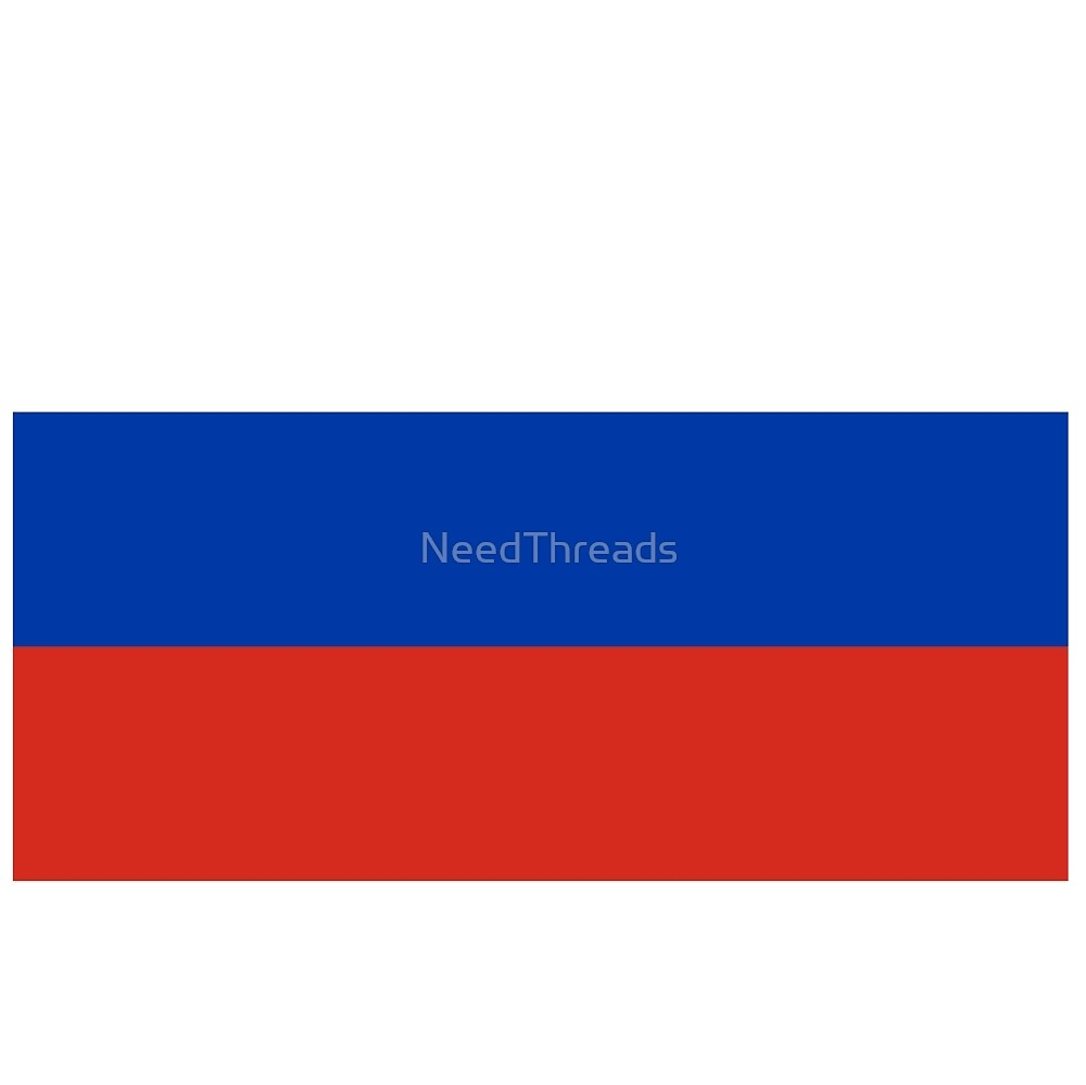 Russia Flag by NeedThreads