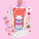 Lucky Kokeshi by ErrinaMercer