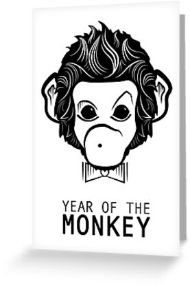 year of the monkey by maydaze
