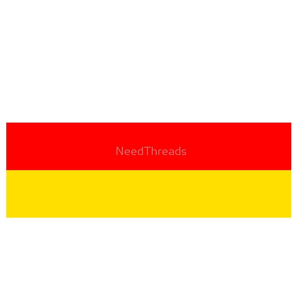 South Ossetia Flag by NeedThreads