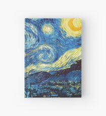 the starry night by van gogh Hardcover Journal