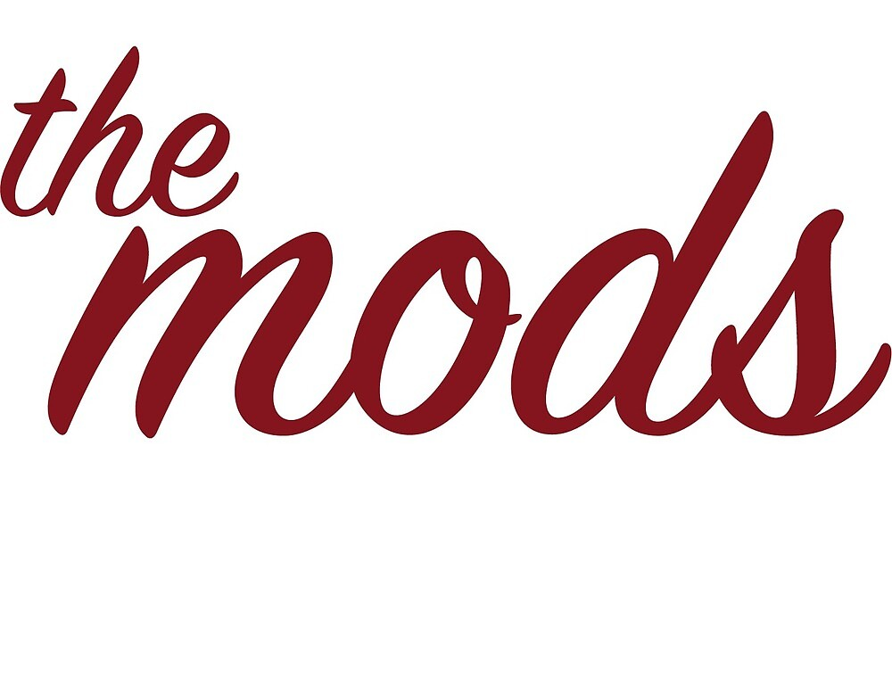 The Mods, Laptop Sticker by sct3426