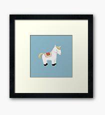 Dear Pony Framed Print